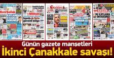 23 Kasım 2015 gazete manşetleri