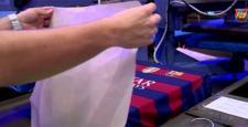 Barcelona formasına 'Dünya Şampiyonu' logosu