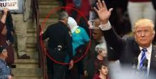 Başörtülü kadını salondan attırdı!
