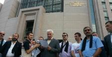 BBP'liler Yazıcıoğlu dosyasına verilen takipsizlik kararını adliyeler önünde protesto etti