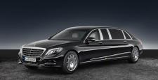 2018 Mercedes-Benz S600 Pullman Maybach Guard