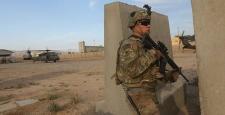ABD askerleri operasyona katıldı