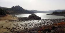 Çanakkale'de barajlar boşaldı