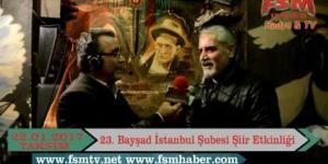 23.Bayşad İstanbul Şubesi Şiir Etkinliği